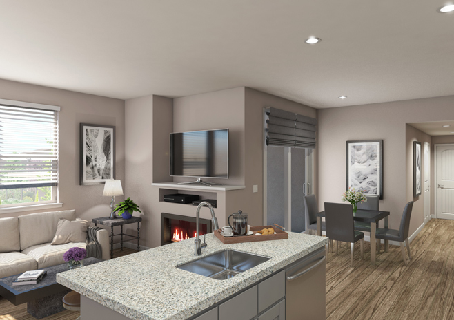 Sierra Vista Apartments - One Bedroom Plan