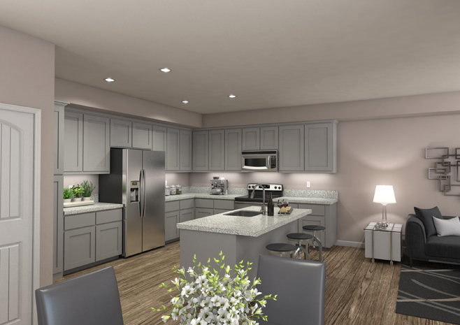 Sierra Vista Apartments - Two Bedroom Plan